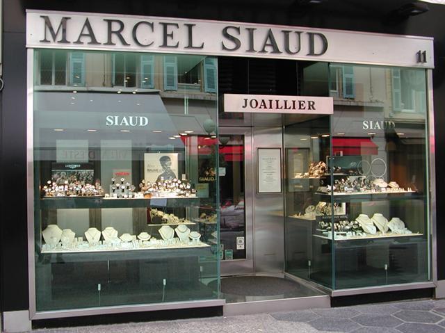 Marcel SIAUD Joaillier Bijoutier Horloger Nice rue masséna