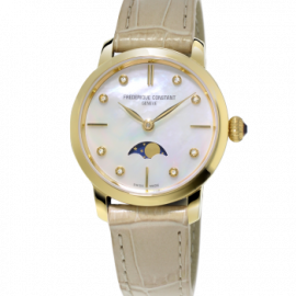 206MPWD1S5 SLIMLINE MOONPHASE FREDERIQUE CONSTANT Femme