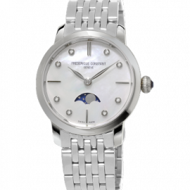 206MPWD1S6B SLIMLINE MOONPHASE FREDERIQUE CONSTANT Femme