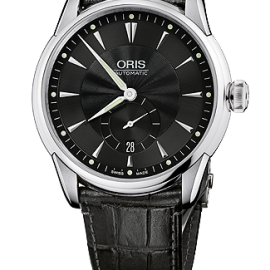 ORIS ARTELIER SMALL SECOND DATE 62375824074-0752171FC