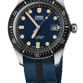 01 733 7720 4055-07 5 21 28FC ORIS DIVERS SIXTY-FIVE