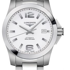 LONGINES CONQUEST L36764166 Homme