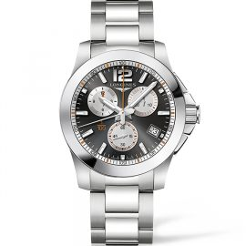 LONGINES CONQUEST 1/100TH ROLAND GARROS L37004796 Homme