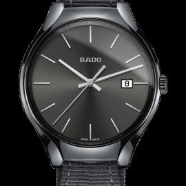 rado true nouveau r27232106 homme ceramique grise