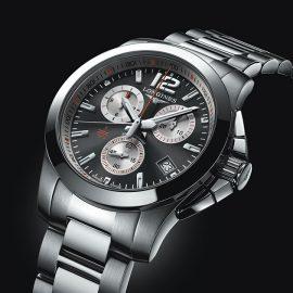 Longines chrono Conquest Roland Garros L37004796