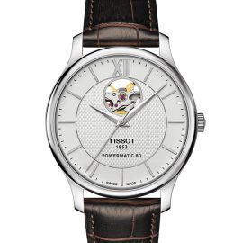 T063.907.16.038.00 TISSOT TRADITION POWERMATIC 80 OPEN HEART