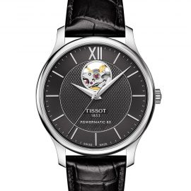 T063.907.16.058.00 TISSOT TRADITION POWERMATIC 80 OPEN HEART