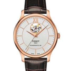 T063.907.36.038.00 TISSOT TRADITION POWERMATIC 80 OPEN HEART