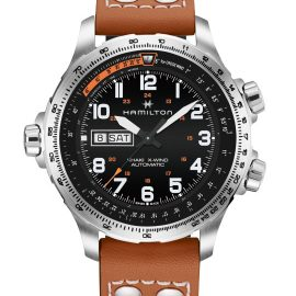 H77755533 Khaki Aviation X-Wind Day Date Auto
