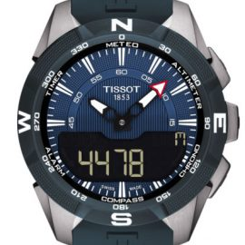 T1104204704100 Tissot T-touch Solar bleu