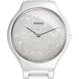 R27.007.092 RADO True Thinline céramique blanche