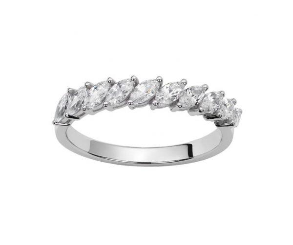 Alliance diamants navettes