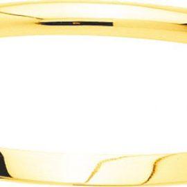 Bracelet jonc massif or jaune 750/°°°