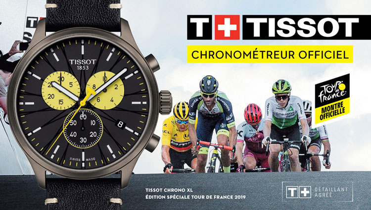 Chrono XL TISSOT édition Tour de France 2019