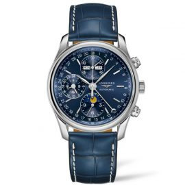 L2.673.4.92.0 Longines The Master Collection chronographe calendrier complet, phase de lune