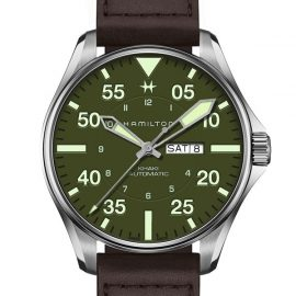 H64735561 Khaki Aviation Pilot Schott NYC - Limited Edition