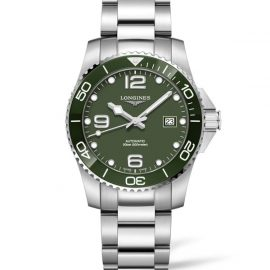 L3.781.4.06.6 LONGINES Hydroconquest Céramic verte automatique