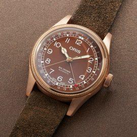 75477413166-0752074BR ORIS Big Crown Pointer Date bronze