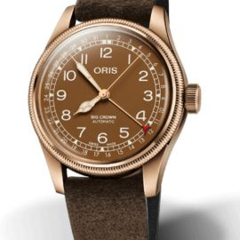75477413166-0752074BR ORIS Big Crown Pointer Date bronze