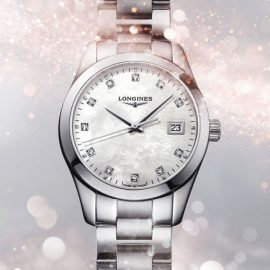 L2.386.4.87.6 LONGINES Conquest Classic 34 mm
